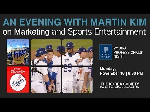 Young Professionals' Night - An Evening with Martin E. Kim