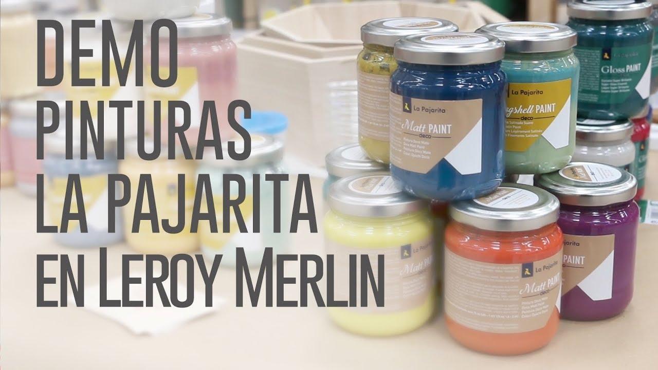 Demo con pinturas la pajarita en leroy merlin vistahermosa youtube - Pintura leroy merlin fotos ...