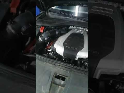 Автосервис Маяк авто Химки Ленинский проспект 27 A заправка кондиционера Audi A8 D4 2016 год