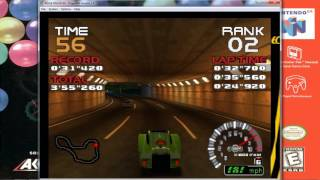 Ridge Racer 64 - Stage 8 - Ridge Racer Extreme Extra - Nintendo 64 - Namco