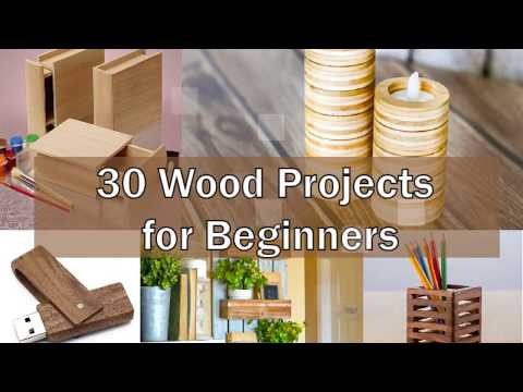 30 DIY Wood Project for Beginners