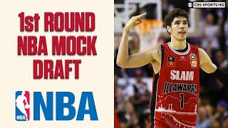 1st Round NBA Mock Draft; James Wiseman, LaMelo Ball, Obi Toppin   CBS Sports HQ