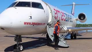 Presentación del tercer avión de Amaszonas Paraguay