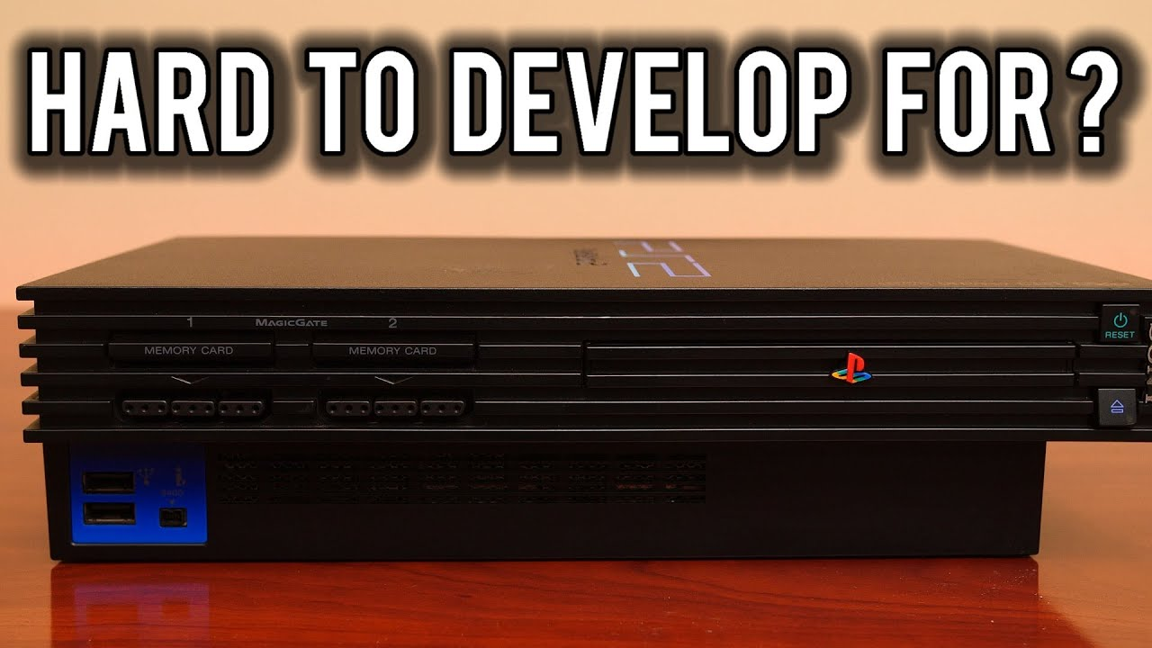 Why was the Sony PlayStation 2 so hard to develop games for ? | MVG