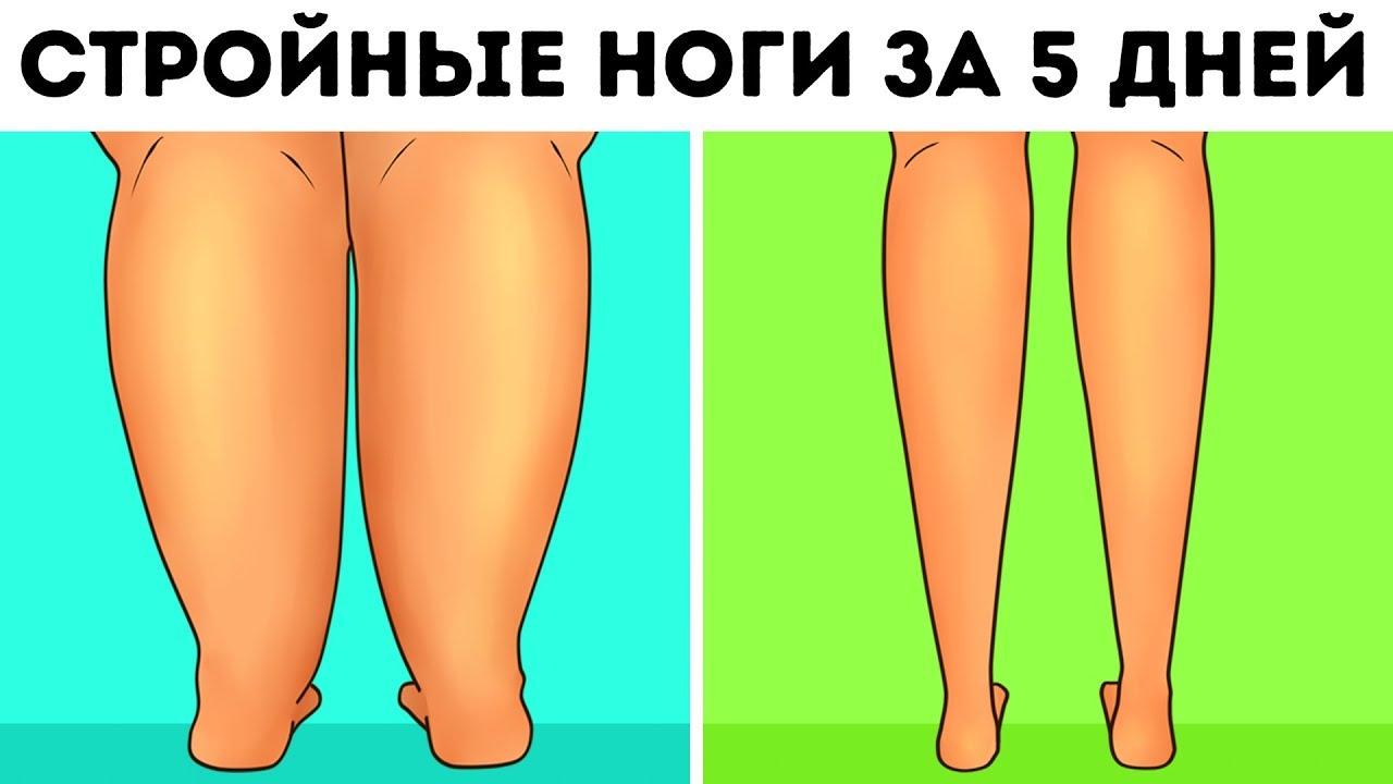 6-минутная Тренировка, Чтобы Быстро Сделать Ноги Стройнее