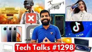 Tech Talks #1298 - PUBG Mobile India Gameplay & Issue, Redmi Note 9 Pro 5G, Indian Drone, TikTok USA