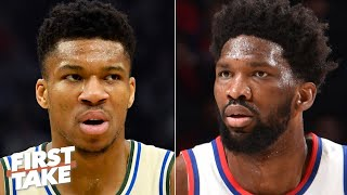 Giannis is the reason Joel Embiid isn't the best player in the East - Chiney Ogwumike | First Take