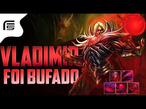 Fiv5 - BUFARAM O VLADIMIR - COMBOS ERROS E ACERTOS GAMEPLAY - League of Legends - [ PT-BR ]