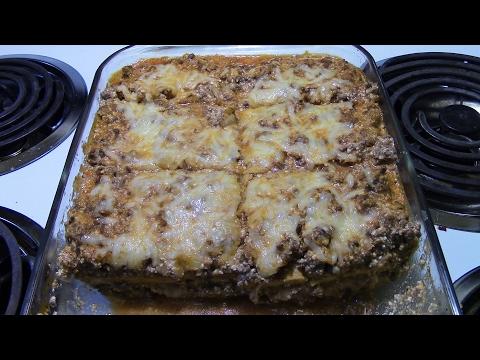 Low Carb Lasagna So Good It's Crazy