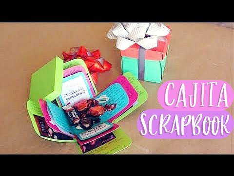 Cajita Scrapbook Carta Regalo Original Exploding Box
