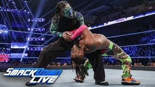 Kofi Kingston vs. Jeff Hardy - Gauntlet Match Part 2: SmackDown LIVE, Feb. 12, 2019