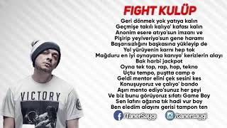 Killa Hakan & Ceza & Ezhel & Ben Fero - Fight Kulüp | SÖZLERİYLE | LYRICS Resimi