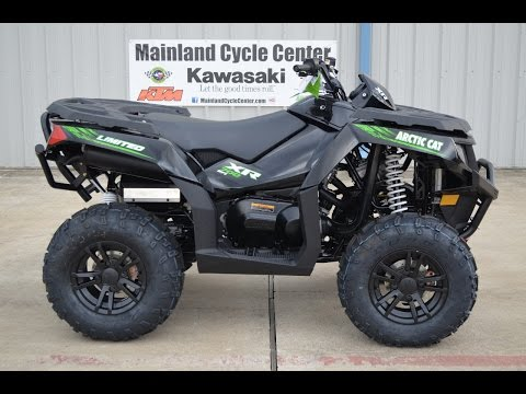 SALE $8,799:  2015 Arctic Cat XR 700 LTD Limited Black Overview and Review