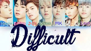 ONF [온앤오프] - Difficult [ LYRICS ]
