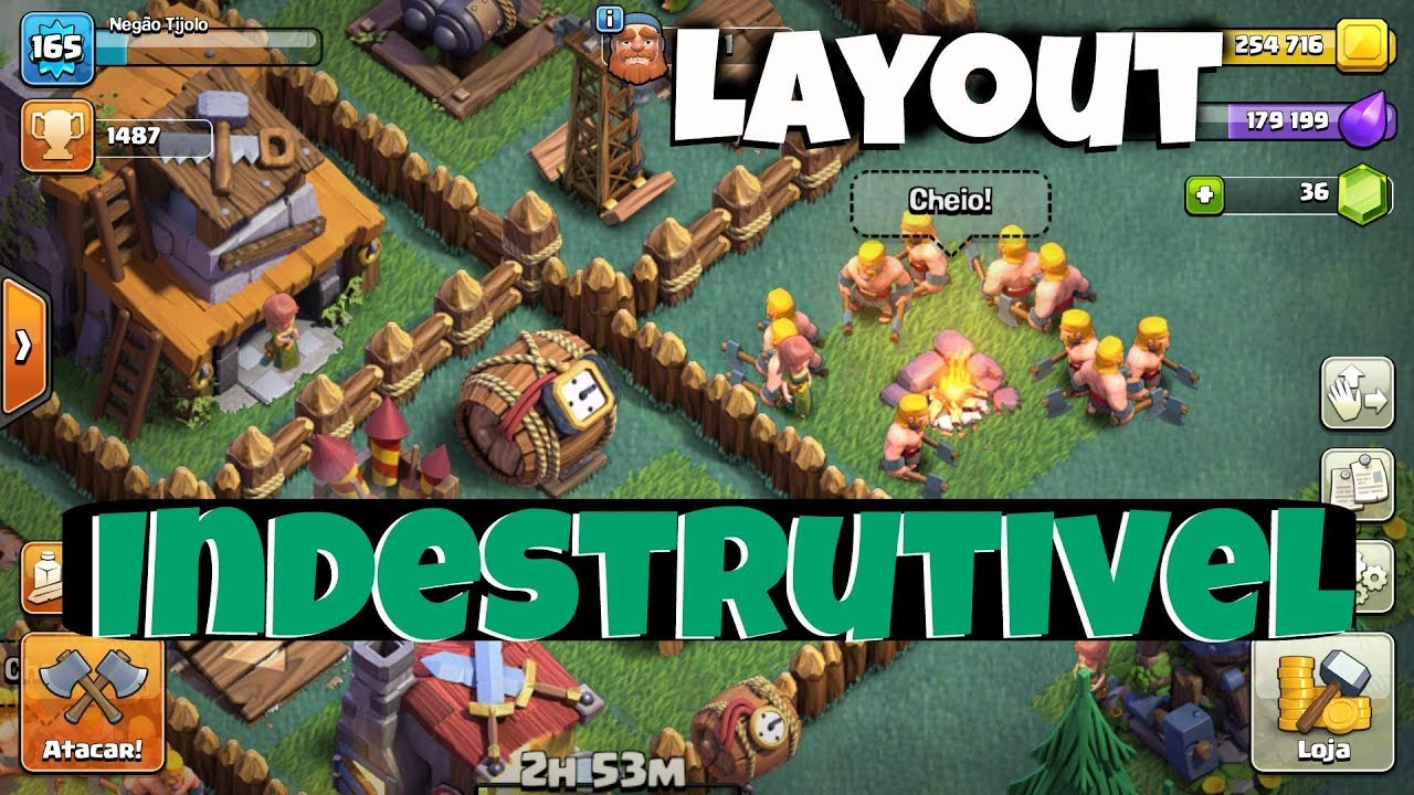 layout indestrutivel cv4 th4 cc4 clash of clans - Layout Cv 4 Clash Of Clans