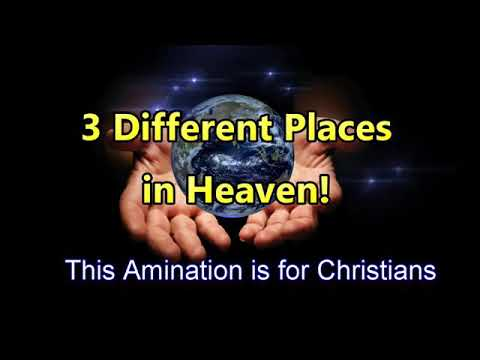 Three different places in heaven- beautiful animation