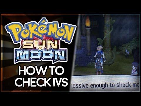Pokémon Sun And Moon | How To Check Pokémon Ivs - YT