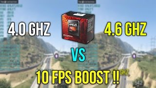 Does Overclocking CPU And Lowering Game Graphics Settings Reduce Bottleneck ? FX 8350 R9 280X
