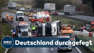 STURM SABINE: Wie ein gewaltiger Orkan ohne große Schäden durch Deutschland braust