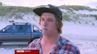 Great white shark kills surfer in Australia