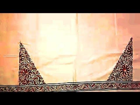 How to Make Kalamkari Style Hand Painting on Saree | Boutique Collections | UMA