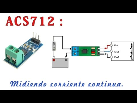 TUTORIAL: How to use the ACS712 hall effect current sensor
