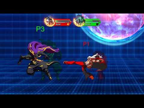 Battle Cross FEVER - Training Old - JMan(Azrael) vs Ryoma(Susanoo) Parsec Netplay - 동영상