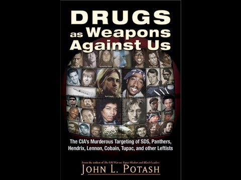 John Potash, CIA, FBI, MK-Ultra, Secret Drug War, Hendrix, L