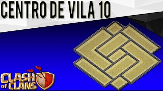 (TH10) BOMB TOWER! Layout ANTI 3 ESTRELAS CV10 | Town Hall 10 Anti 3 | 275 Walls | Clash Of Clans