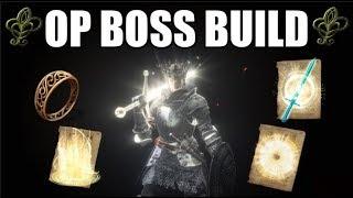 Dark Souls 3 OP Regeneration Boss Build (Spears Of The Church Covenant)
