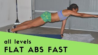 10MIN: Get Flat Abs Fast (at Any Fitness Level)