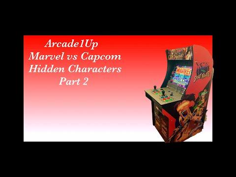 Arcade1Up Marvel vs Capcom hidden characters Part 2 from Beardedtankfrank