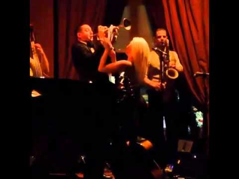 Lady Gaga performing with Brian Newman, in Monaco