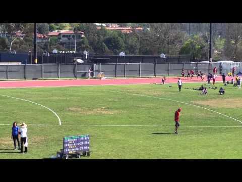 100m Dash Cal St. LA