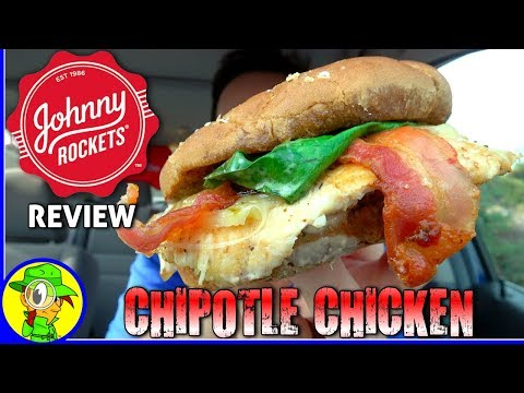 Johnny Rockets® | Chipotle Chicken Sandwich Review! 🚀🐔