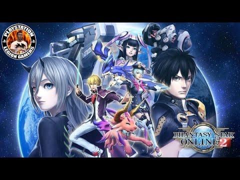 Phantasy Star Online 2 PS4 Gameplay
