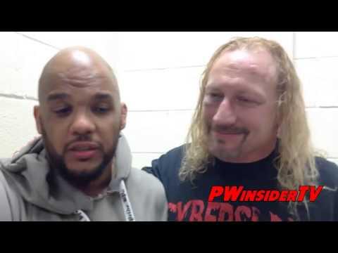Jerry Lynn & Homicide PWINSIDERTV Interview Backstage Extreme Rising Lynn Philadelphia Farewell