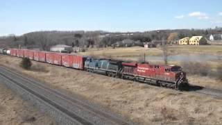 Five Trains - Port Hope, Ontario