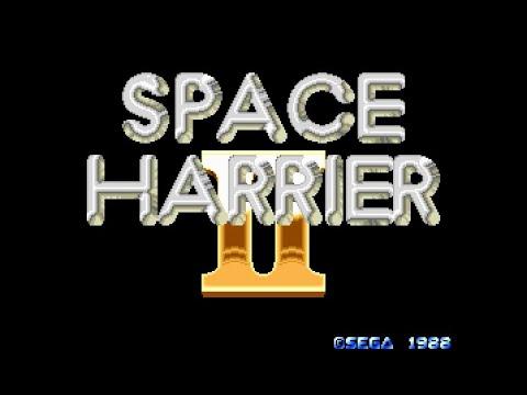 Mega Drive Longplay [277] Space Harrier 2