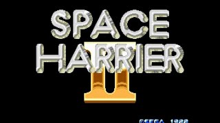 Mega Drive Longplay [277] Space Harrier 2