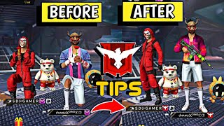 How to get more rank points tips and tricks in free fire in Telugu||heroic and Grand Master||