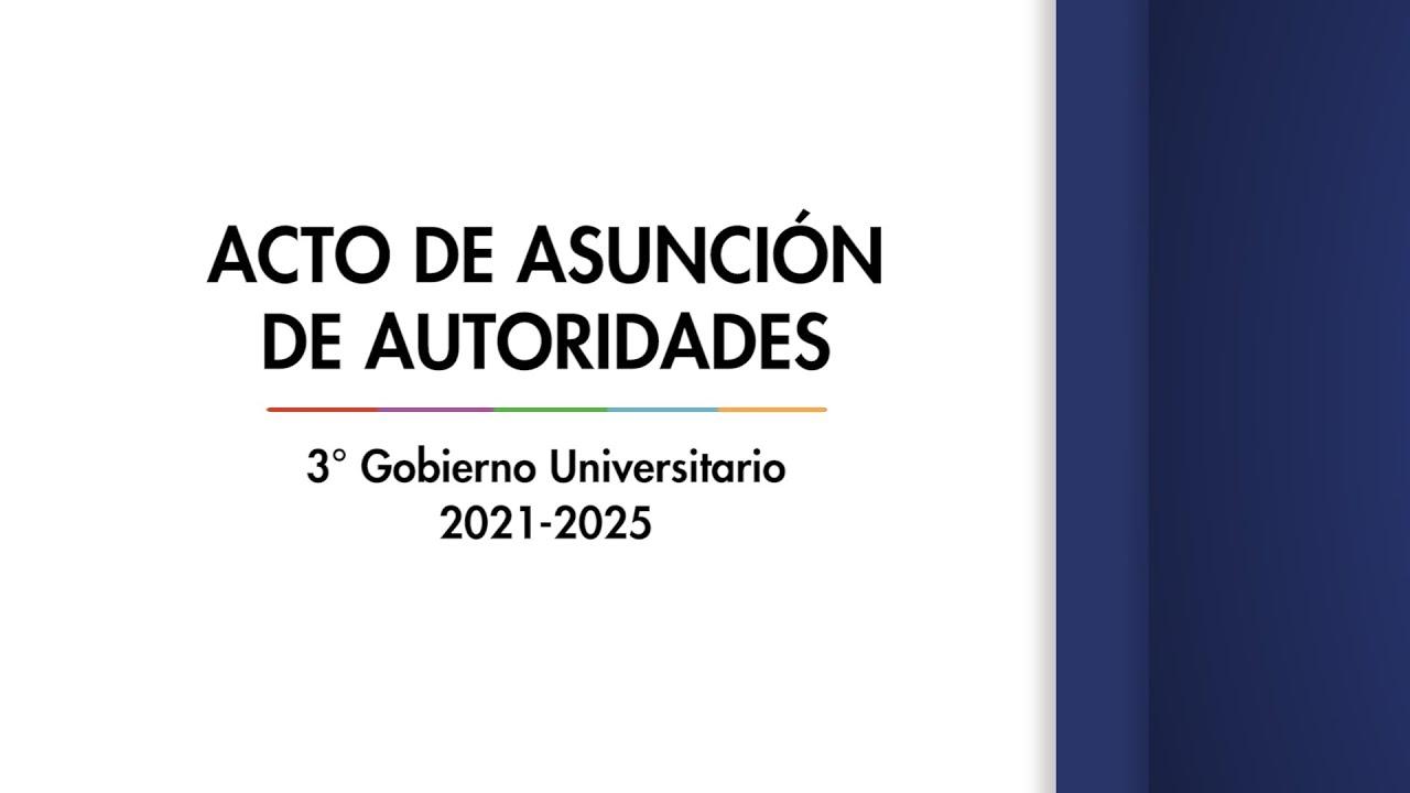Acto de Asunción de Autoridades - Gacetilla