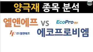 엘앤에프(066970 kq) vs 에코프로비엠(247540 kq)