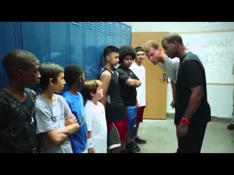 Blake Griffin and Chris Paul roast some kids (funny)