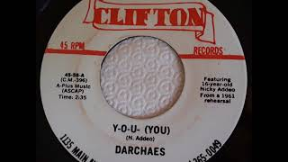 Darchaes - Y-O-U (You) / Life Is But A Dream - Clifton 56 - 1980