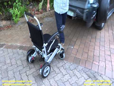 Portashopper Grand Travel Electric Wheelchair / Mobility Chair / Power Wheelchair