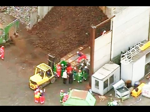 Five killed as wall collapses on workers in horror industrial accident in Birmingham