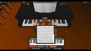 Roblox Virtual Piano: Full Metal Alchemist - Brothers (Easy)