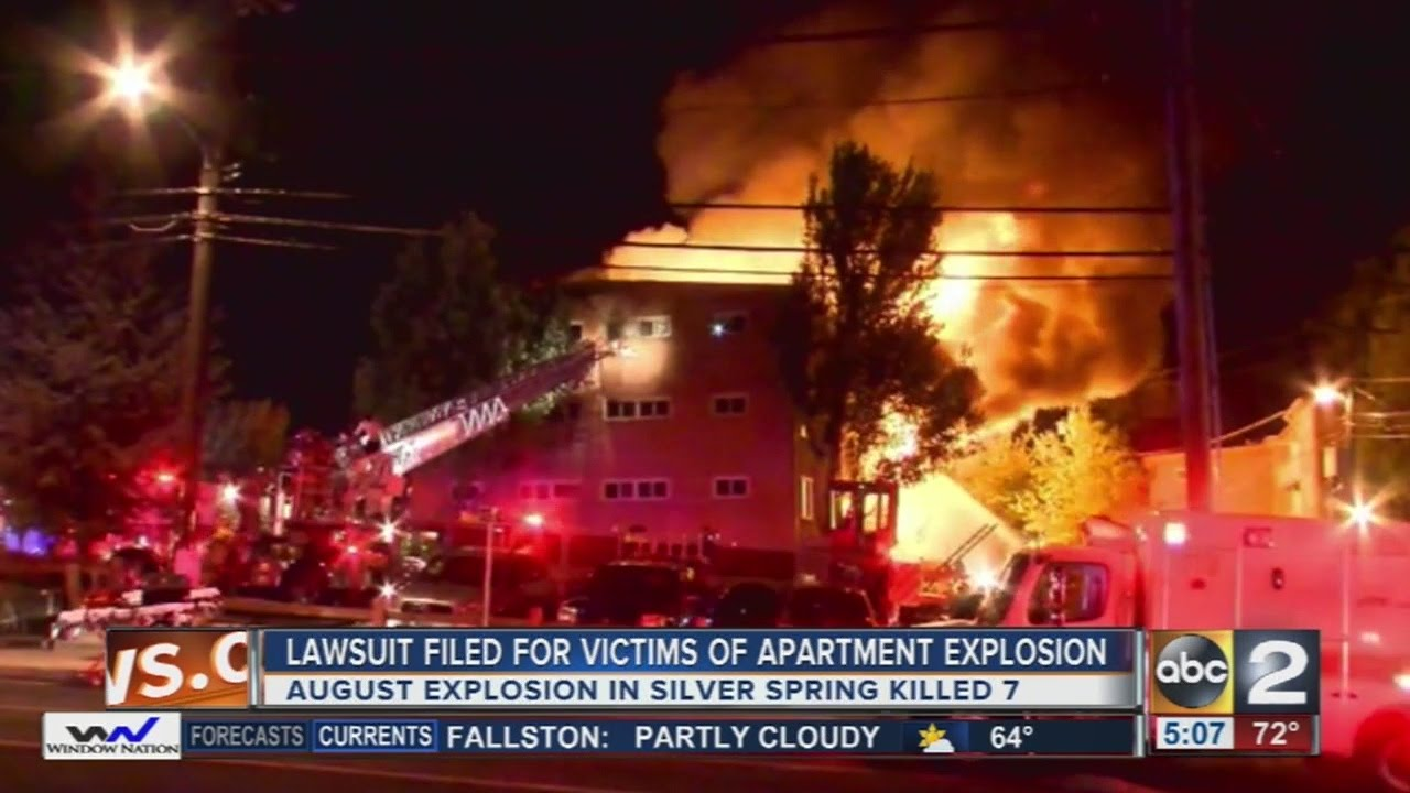 Residents of Flower Branch apartment complex in Silver Spring sue over  explosion that killed 7