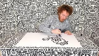 Me doodling myself doodling
